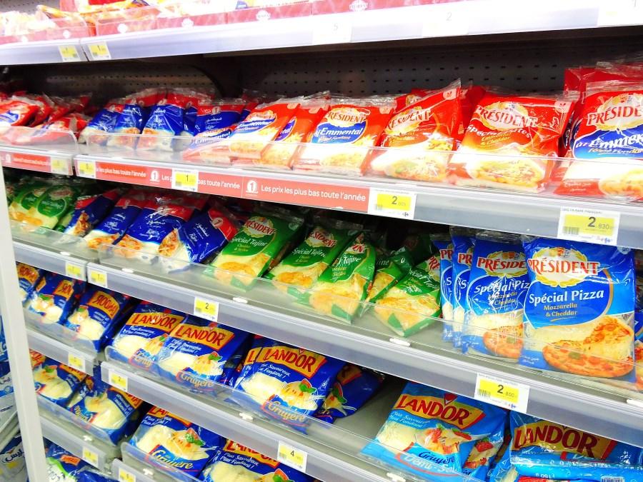 ceny na produkty v tunise