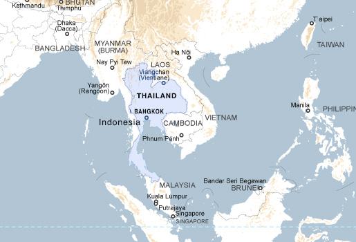 gde nahoditsya bangkok