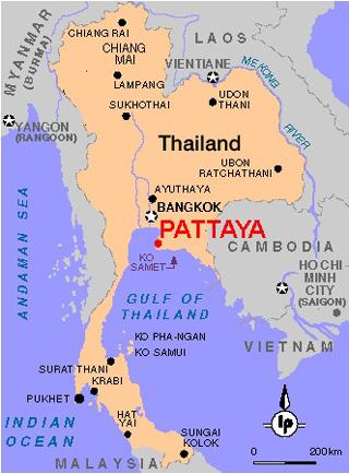 gde nahoditsya pattajya