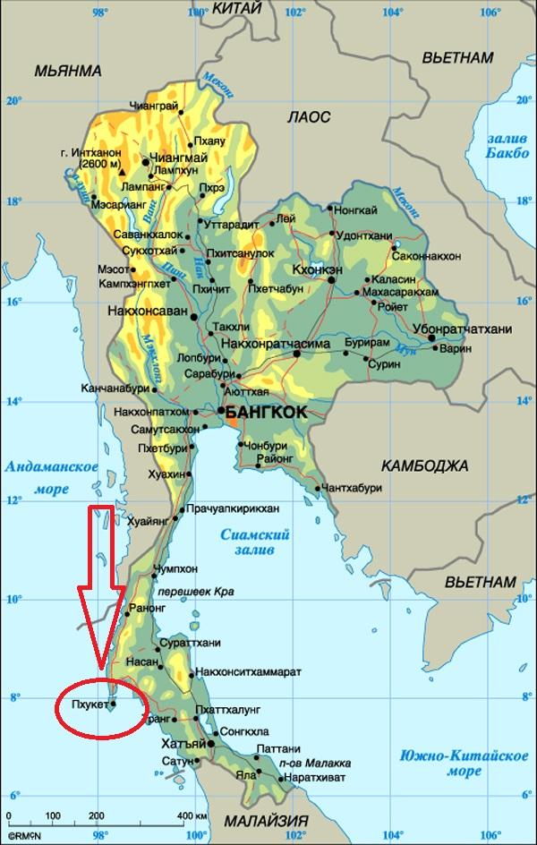 gde nahoditsya phuket