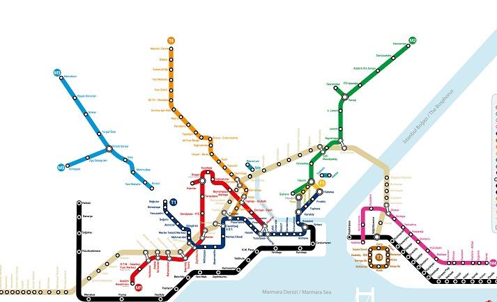 karta metro stambula