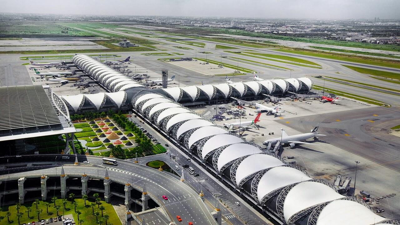 aeroporty tajlanda