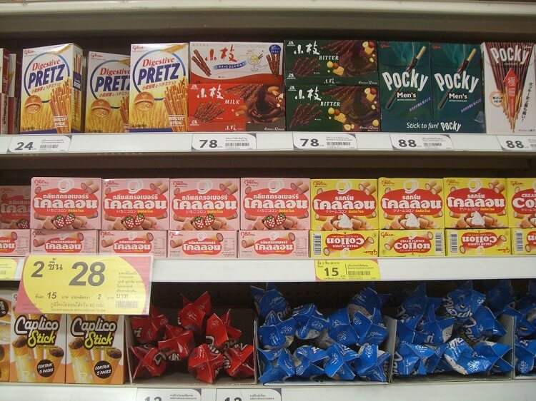 ceny v tailande