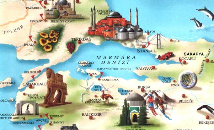 kurorty turcii na mramornom more