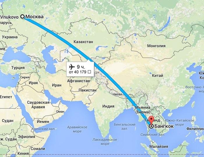skolko letet do tajlanda iz moskvy 1
